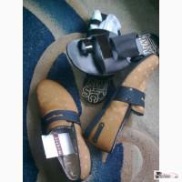 Легкие мужские туфли MYSTIC(подошва с запахом вишни) Fresco Gossi, замша, кожа 43