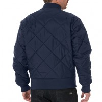 Куртка стёганая мужская Dickies Diamond Quilted Dark Navy