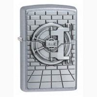 Зажигалка Zippo 29555 Bank Vault Surprise-Gold Emblem