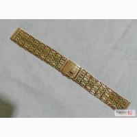 Золотой браслет для часов в Москве