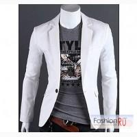 Стильный мужской пиджак(белый) Пекин в Ульяновске