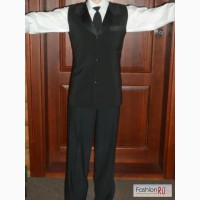 Жилет и галстук для бальных танцев в отличном состоянии!