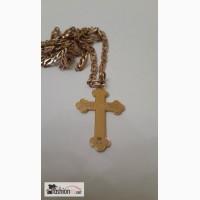 Крест золотой 19 век и кольцо 19 века в Москве