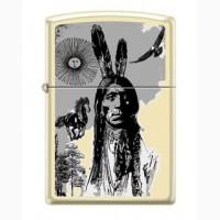 Зажигалка Zippo Indian Portrait