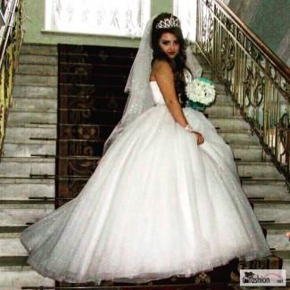 Продам! Или сдам в прокат! Итальянское свадебное платье