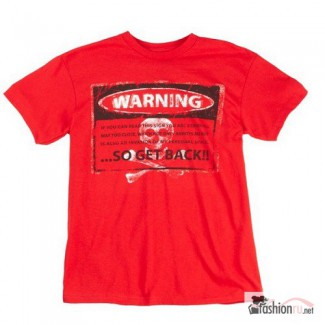 Футболка Warning Red Ink Inc
