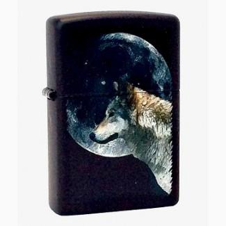 Зажигалка Zippo Wolf and Moon