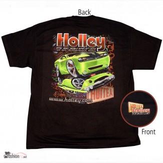 Футболка Holley Challenger Re-Birth Black