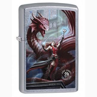 Зажигалка Zippo 79275 Anne Stokes Sorceress and Dragon
