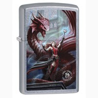 Зажигалка Zippo 79275 Anne Stokes Sorceress and Dragon
