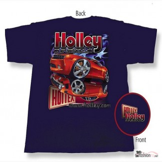 Футболка Holley Camaro Re-Birth Navy