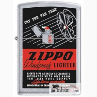 Зажигалка Zippo 24384 The Fan Test