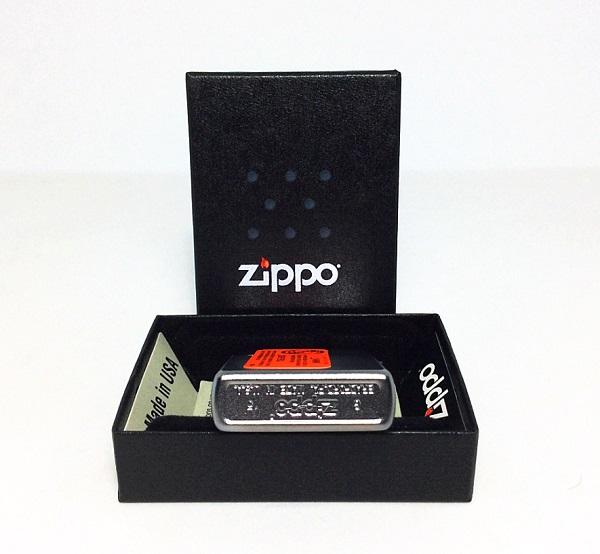 Фото 4. Зажигалка Zippo 24384 The Fan Test