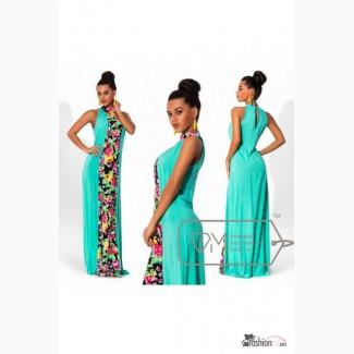 Летние яркое платье в пол Артикул: Am8030-2