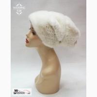 Норковая белая шапка в Москве