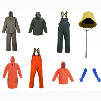 Практичную одежду влагозащитную для рыбаков и моряков, Польша
