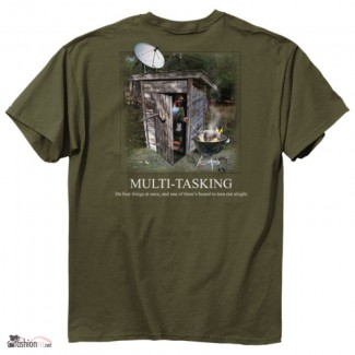 Футболка Buckwear Redneck Multi-Tasking Original