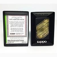 Зажигалка Zippo 218 Lifetime Guarantee