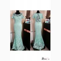 Вечернее кружевное платье Артикул: Ам9426-3