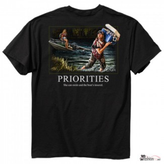Футболка Buck Wear Priorities Original