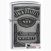 Зажигалка Zippo 250JD 427 Jack Daniels Pewter Emblem