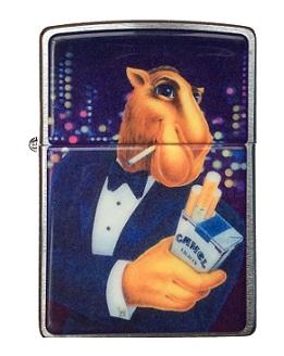 Зажигалка Zippo Camel CZ 142 Joe In Tuxedo