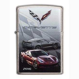 Зажигалка Zippo Сhevy Corvette 2016 Z06