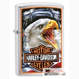 Зажигалка Zippo 29499 Harley Davidson Mazzi Eagle
