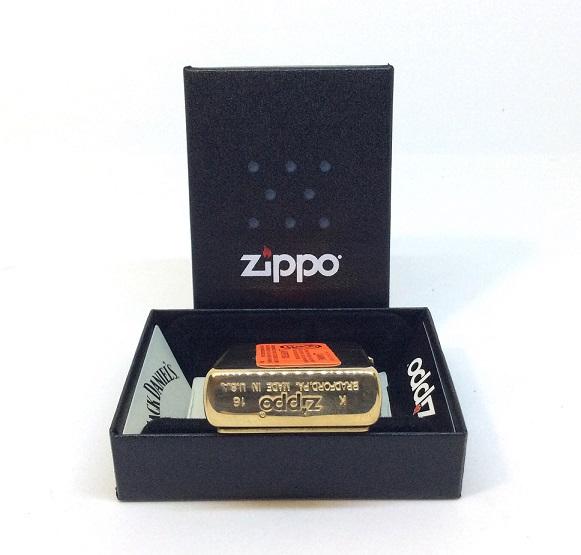 Фото 4. Зажигалка Zippo 254BJD 428 Jack Daniels Brass Emblem