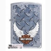 Зажигалка Zippo 207 Harley Davidson Wings