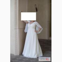 Свадебное платье в стили Наташи Ростовой ампир б/у