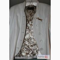 Кожаный стильный пиджак Acasta в Кемерово