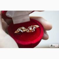 Золотые серьги с бриллиантами в Нижнем Новгороде