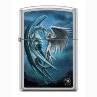 Зажигалка Zippo 7431 Anne Stokes Dragon and Angel