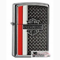 Зажигалка Zippo 28732 Harley Davidson Diamond Plate