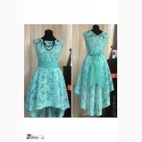 Кружевное праздничное платье Артикул: Ам9425-2