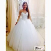 Свадебное платье OKSANA MUKHA sabrina, цвет крем в Иваново