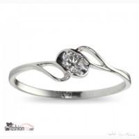 Золотое кольцо с брилиантом Октагон Кольцо в Москве