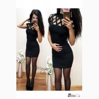 Элегантное платье под горло Артикул: Ам9360-1