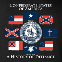 Футболка Confederate States of Amerika Black