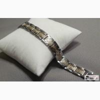 Мужской стальной браслет Weave Gold RM78 в Ростове-на-Дону