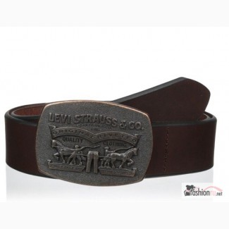 Ремень мужской Levis 40 mm 2 Horse Plaque (Brown)