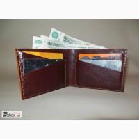 Мужской кошелек из кожи подарок в Саратове
