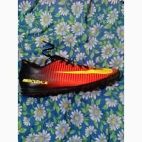 Продам бутсы мужские для жёстких покрытий Nike Mercurial Vortex ||| TF 43, 5 размера