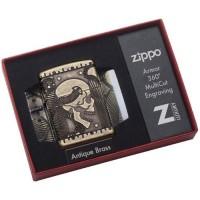 Зажигалка Zippo 29268 Armor Multicut Steunk Skull