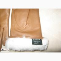 Перчатки зима на кроличьем меху 7 разм Румыния в Новосибирске
