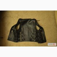 Кожаный супер жилет Leather Knight в Москве