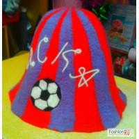 Эксклюзивные Банные шапки свалянные вручную с любой символикой