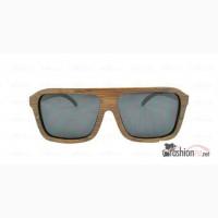 Деревянные солнцезащитные очки Mokuzai Disco black в России