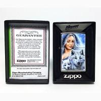 Зажигалка Zippo 78891 Mazzi Lady with Wolves